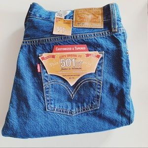 NWT Levi's 501 CT Buttonfly High Waist Jeans